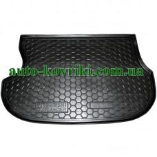 Коврик багажника резиновый Mitsubishi Outlander 2003-2006 (Avto-Gumm)