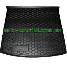 Коврик багажника резиновый Mitsubishi Outlander 2012- с органайзером (Avto-Gumm)