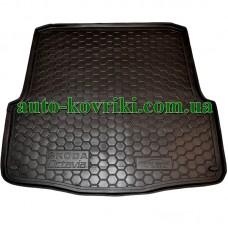 Коврик багажника резиновый Skoda Octavia A5 2004-2012 (Универсал) (Avto-Gumm)