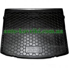 Коврик багажника резиновый Toyota Auris 2013- (Avto-Gumm)