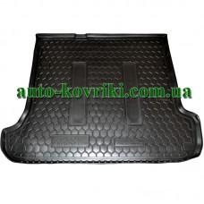 Коврик багажника резиновый Toyota Land Cruiser Prado 120 2002-2009 (5-7 Мест) (Avto-Gumm)