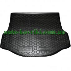 Коврик багажника резиновый Toyota RAV4 2013- с докаткой (Avto-Gumm)