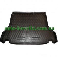 Коврик багажника резиновый Daewoo Lanos (Седан) 1997- (Avto-Gumm)