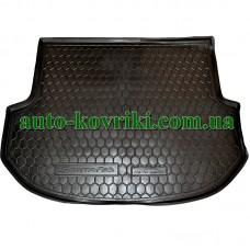 Коврик багажника резиновый Hyundai Santa Fe 2012- (Короткая база) 5мест (Avto-Gumm)