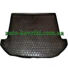 Коврик багажника резиновый Hyundai Santa Fe 2012- (Короткая база) 7мест (Avto-Gumm)