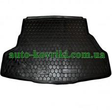 Коврик багажника резиновый Jac J5 2009- (Avto-Gumm)