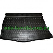 Коврик багажника резиновый Kia Ceed 2012- (Хетчбэк) (Avto-Gumm)