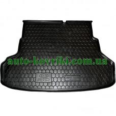 Коврик багажника резиновый Kia Rio 2011- Седан (Avto-Gumm)