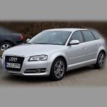 Автомобильные коврики для Audi А3 (8P) 2003-2012