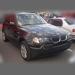 Автомобильные коврики для BMW X3 (E83-кузов) 2003-2010