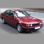 Автомобильные коврики для BMW 5 (E34-кузов) 1988-1995