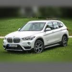 Автомобильные коврики для BMW X1 (F48-кузов) 2016-