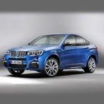 Автомобильные коврики для BMW X4 (F26-кузов) 2014-