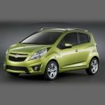 Автомобильные коврики для Chevrolet Spark 2005-2009 / 2009-