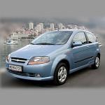 Автомобильные коврики для Chevrolet Kalos 2003-