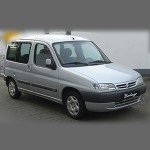 Автомобильные коврики для Citroen Berlingo 1998-2008