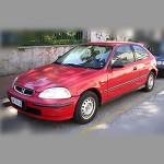 Автомобильные коврики для Honda Civic 1995-2000