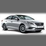 Автомобильные коврики для Hyundai Sonata LF 2014- (i45)