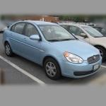 Автомобильные коврики для Hyundai Accent III 2006-2010