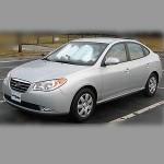 Автомобильные коврики для Hyundai Elantra 2006-2010