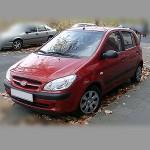 Автомобильные коврики для Hyundai Getz 2002-2011