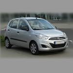 Автомобильные коврики для Hyundai I10 2007- / 2013-