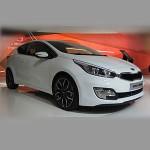 Автомобильные коврики для KIA Ceed 2012-2018