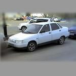 Автомобильные коврики для Lada 2110 1995-