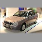 Автомобильные коврики для Lada Priora (2170) 2007-