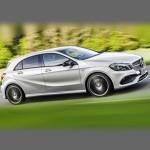 Автомобильные коврики для Mercedes W176 (A-Class) 2012-2017