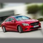 Автомобильные коврики для Mercedes C117 CLA 2013-