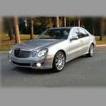 Автомобильные коврики для Mercedes W211 2002-2009