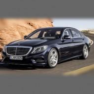 Mercedes W222 2013-