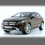 Автомобильные коврики для Mercedes X156 GLA 2013-2019