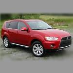 Автомобильные коврики для Mitsubishi Outlander II 2007- / III 2012-