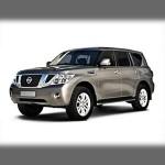 Автомобильные коврики для Nissan Patrol (Y62) 2010-