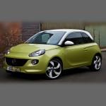 Автомобильные коврики для Opel Adam 2013-