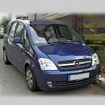 Автомобильные коврики для Opel Meriva A 2003-2010