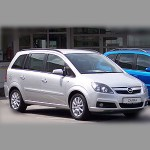 Opel Zafira B (Family) 2005-