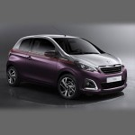 Автомобильные коврики для Peugeot 108 2014-