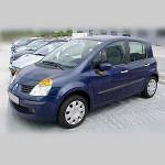 Автомобильные коврики для Renault Modus 2004-2012