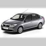 Автомобильные коврики для Renault Symbol 1999-2007 / 2008-