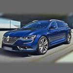Автомобильные коврики для Renault Talisman 2016- / Samsung SM6
