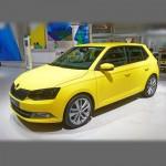 Автомобильные коврики для Skoda Fabia III 2014-