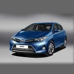 Автомобильные коврики для Toyota Auris E180 2013-