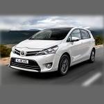 Автомобильные коврики для Toyota Verso 2009-2019