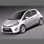 Toyota Yaris U 2012-