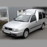 Автомобильные коврики для Volkswagen Caddy 1997-2003