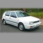 Автомобильные коврики для Volkswagen Golf III 1991-1997
