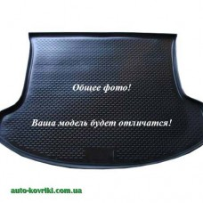 Коврик в багажник Chevrolet Aveo hatchback 2008 (ПВД Автоформа)